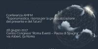 Conferenza AM/FM GIS Italia il 28 giugno