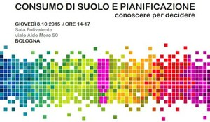 Seminario Tematico sul Consumo di Suolo in Emilia-Romagna
