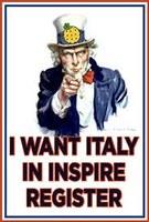 Vogliamo anche l'Italia nel registro INSPIRE