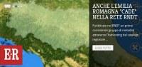 Il patrimonio dei dati geografici dell'Emilia-Romagna condiviso sul portale RNDT
